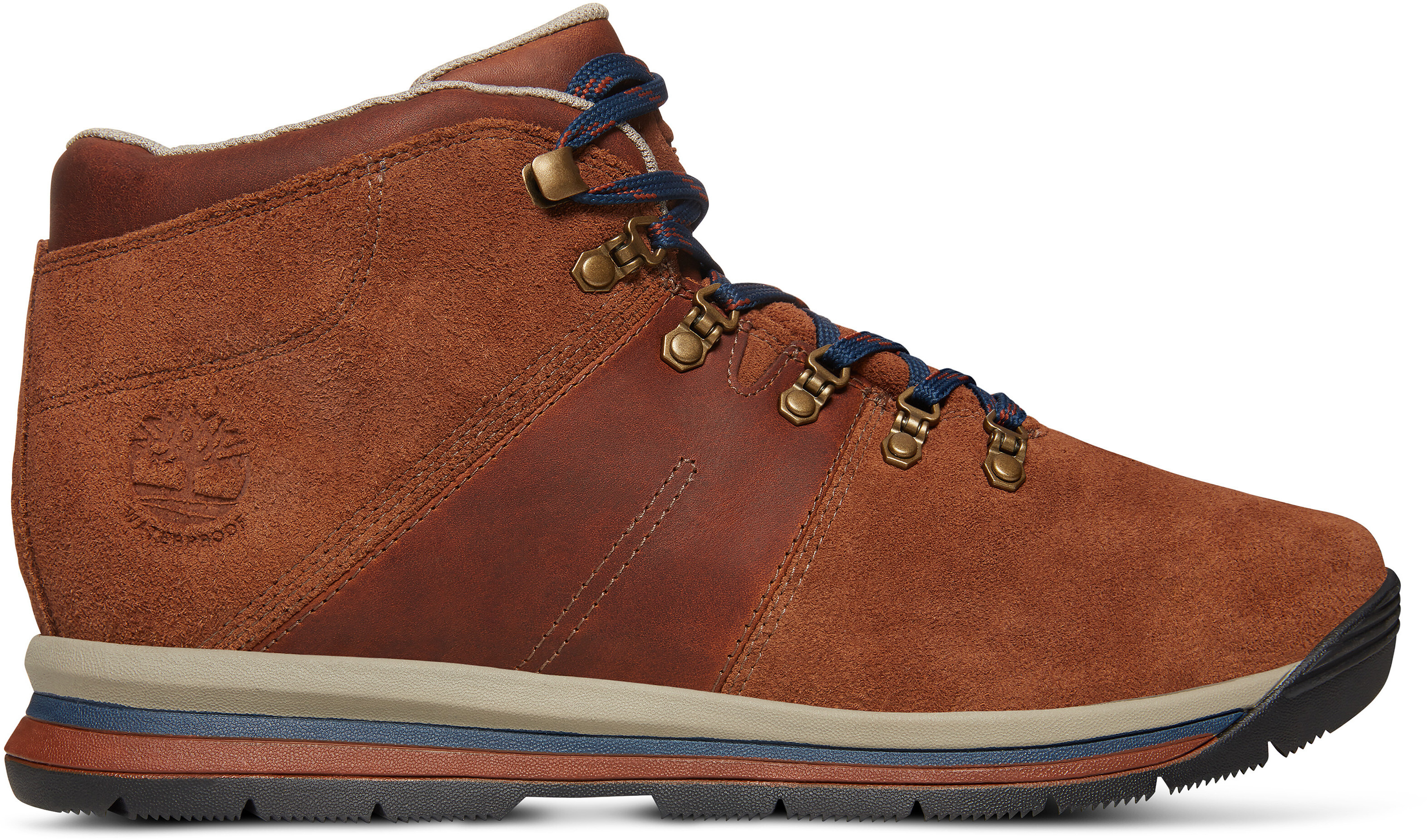 4bb1e904673 Timberland GT Rally Mid Leather WP - Chaussures Homme - marron sur ...